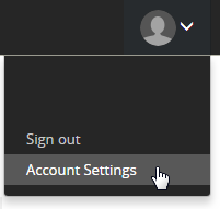 Quest account settings